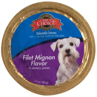Grreat Choice� Filet Mignon Flavor in Savory Juices Gourmet Dog Food   Sale   Dog