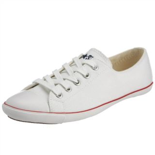 Converse WoMens Chuck Taylor All Star Light OX Lace Up Optical White
