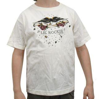 Lil Rocker Kinder T Shirt, beige