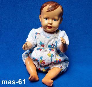 SÜSSES ALTES BABY CELLULOID VORKRIEG 33 CM PUPPE DOLL