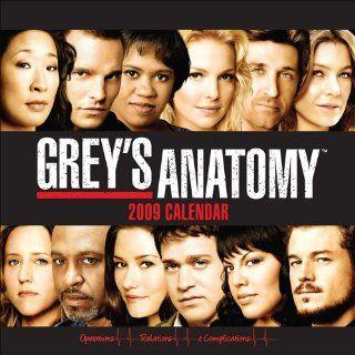 Greys Anatomy 2009 Wall Calendar. Andrews McMeel