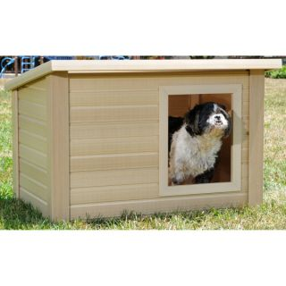New Age Pet Rustic Lodge Dog House   Summer PETssentials   Dog