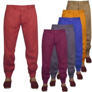 Cuffed Jogger Trouser jeans pants Denim Size 28 30 32 34 36