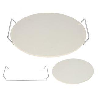 Brotbackstein Durchmesser ~33 cm Pizzasteinplatte Pizzastein