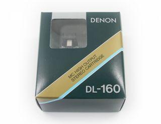Denon DL 160 / DL160 High Output MC Tonabnehmer  NEU