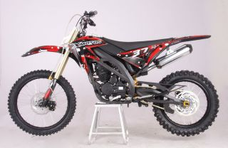 CENKOO XB 37B 250cc Enduro Cross Dirt Bike Schwarz