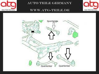 Querlenker Set BMW 5 Serie E39 Vorderachse links NEU
