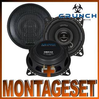 Crunch DSX 42 Lautsprecher für Renault Kangoo Bj. 1997 2007