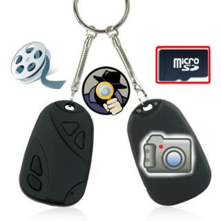Mini HD Kamera DV Auto car Key Spy Cam Bild Video Spion + 2Gb Micro SD