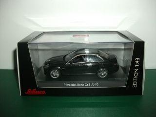43 143 SCHUCO mercedes benz C63 AMG black