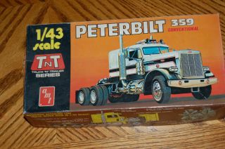 AMT PETERBILT 359 CONVENTIONAL 1/43 TNT