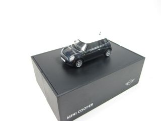 Original Mini Cooper black schwarz 143 AutoArt Modellauto NEU OVP