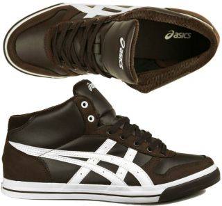 Asics Aaron MT brown/white Gr 49 braun