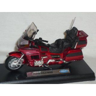 HONDA GOLD WING GOLDWING ROT 1/18 WELLY MODELLMOTORRAD MODELL MOTORRAD