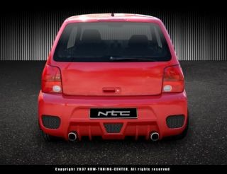 VW Lupo Heckschrze Heckstostange R Design