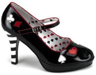 Pleaser Funtasma Contessa 57 High Heels Shoes Costume Alice Wonderland