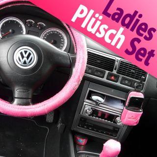 Lenkradbezug Lenkradhülle 5teiliges Lady Set Pink NEU
