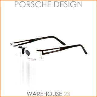 PORSCHE DESIGN BRILLE P8173 C 54/15 145 DARK RED MAT HERREN UVP 370