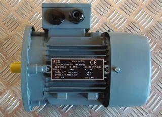 AEG AM71ZBA2Y4 Motor 0,55 kW Elektromotor B5 3~Mot. Drehstrommotor