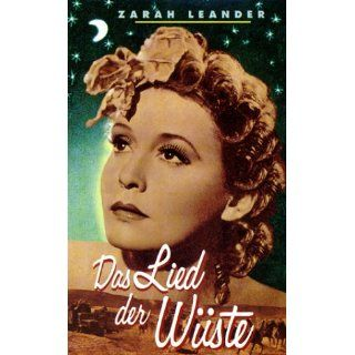 Das Lied der Wüste [VHS] Zarah Leander, Gustav Knuth, Friedrich