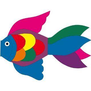 HQ Windsock Tropical Fish Blue 50 Garten