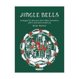 Jingle Bells Sopran  und Alt Blockflöte, Schlagzeug und Klavier