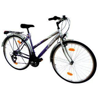 LANDER Damen Trekking Fahrrad 28 Zoll (71,1cm) 18 Gang Shimano StVZO