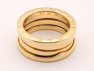 BVLGARI B.zero 1 ring S size Pink Gold size 52 / US 6 Rise on