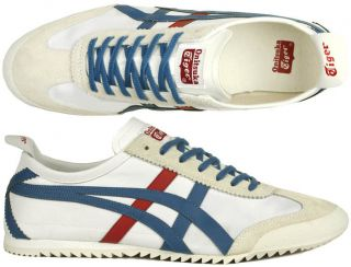 Asics Schuhe Onitsuka Tiger Mexico 66 DX white/blue/red sneaker