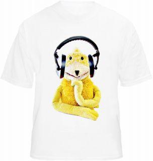 Flat Eric T shirt Clubbing Puppet DJ Retro Dance Acid Stag Hen Party