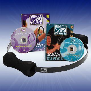 Winsor Pilates DVD Set, Pilates Ring, Sculpting Circle