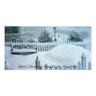 IMG_0208, Merry Christmas And Happy New Year Photo Greeting Card