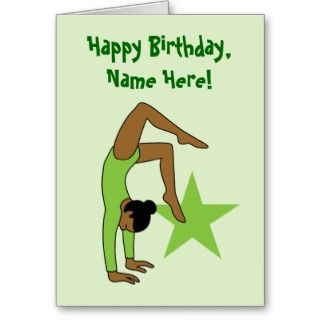 Note Cards and African American Girl Birthday Greeting Card Templates
