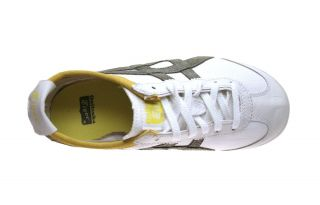 tiger mexico 66 cv washed white olive asics onitsuka tiger mexico 66