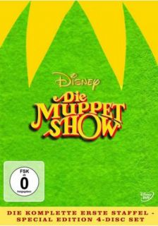 Die Muppet Show   Limited Edition Season/Staffel 1   4 DVD BOX NEU OVP