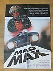 Filmposter * Kinoplakat * Mad Max I * Mel