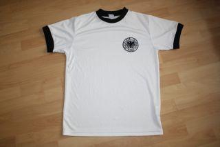 Deutschland DFB Nationalmannschaft Retro WM 74 Trikot Shirt RAR #315