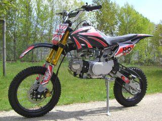 Dirtbike Dirt Bike 125 ccm 125ccm Quad Pit Midi Enduro Cross große