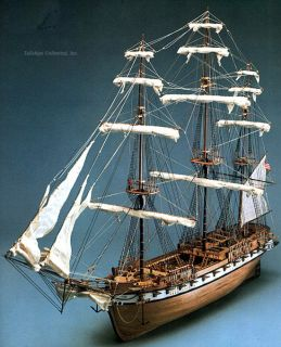 72 USS CONSTELLATION   HISTORIC SCALE WOOD MODEL SHIP KIT BY