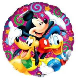 Micky Maus   Folien Ballon Mickey Mouse 45cm