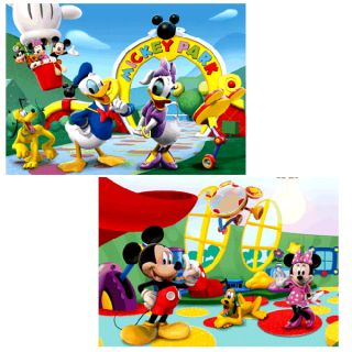 Micky Maus   Puzzle Mickey Mouse & Freunde 2x20 Teile