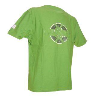 LIFE LIVE Herren T Shirt HUACAN Rundhals green Größe XL grün