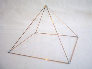 KUPFERPYRAMIDE Pyramide, Copper Pyramid, Feng Shui, Esoterik, Orgon