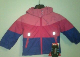 Original Etirel Adiana Klein Kinder Jacke pink/purple