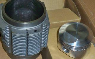 Porsche 356 Motor B C  Kolben Zylinder Alu 83 mm J&E