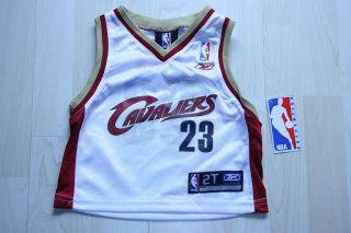 Lebron James Cleveland Rookie Trikot Basketball NBA Gr 2T 92