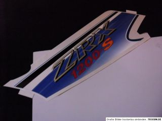 Kawasaki ZRX 1200s ZRX1200 S original Dekor Logo Aufkleber Decal mark