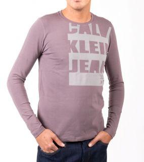 Calvin Klein CK Herren T Shirts Sport CK32 Braun