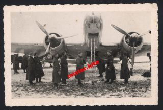 Junkers Flugzeug ju 88? Bomber Luftwaffe Norwegen Flugplatz Airplane