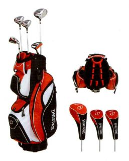 Spalding Complete Golf Set Boxed SP 88 red